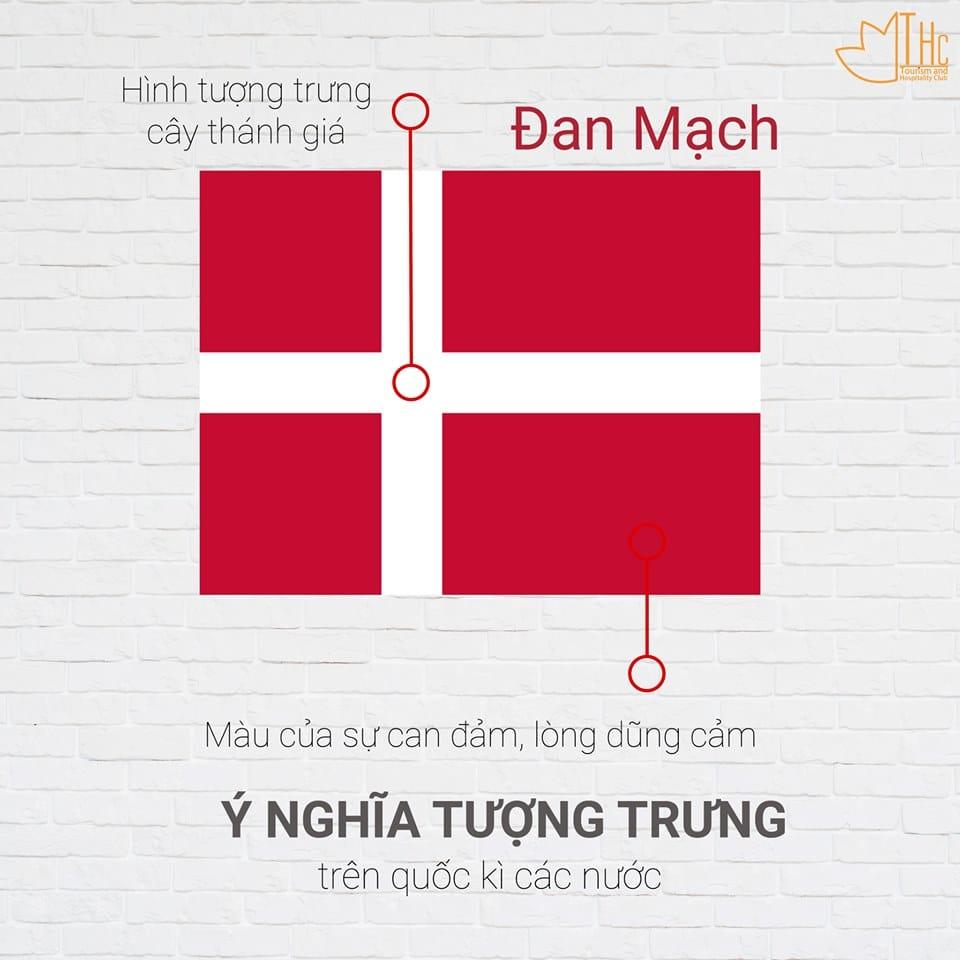 Ý nghĩa Quốc kỳ Đan Mạch