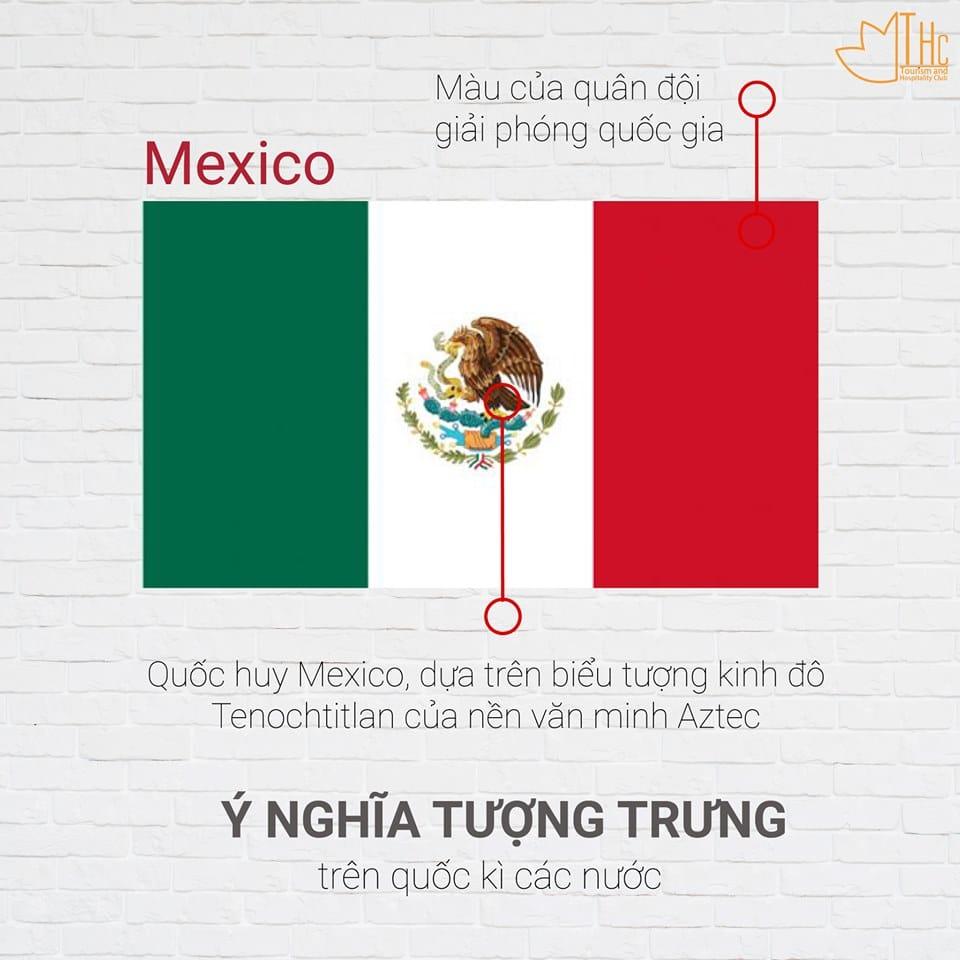 Ý nghĩa Quốc kỳ Mexico