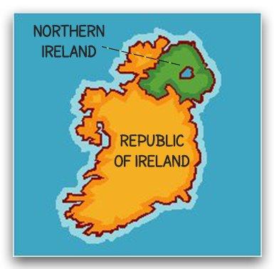 Bắc Ireland và Cộng hòa Ireland