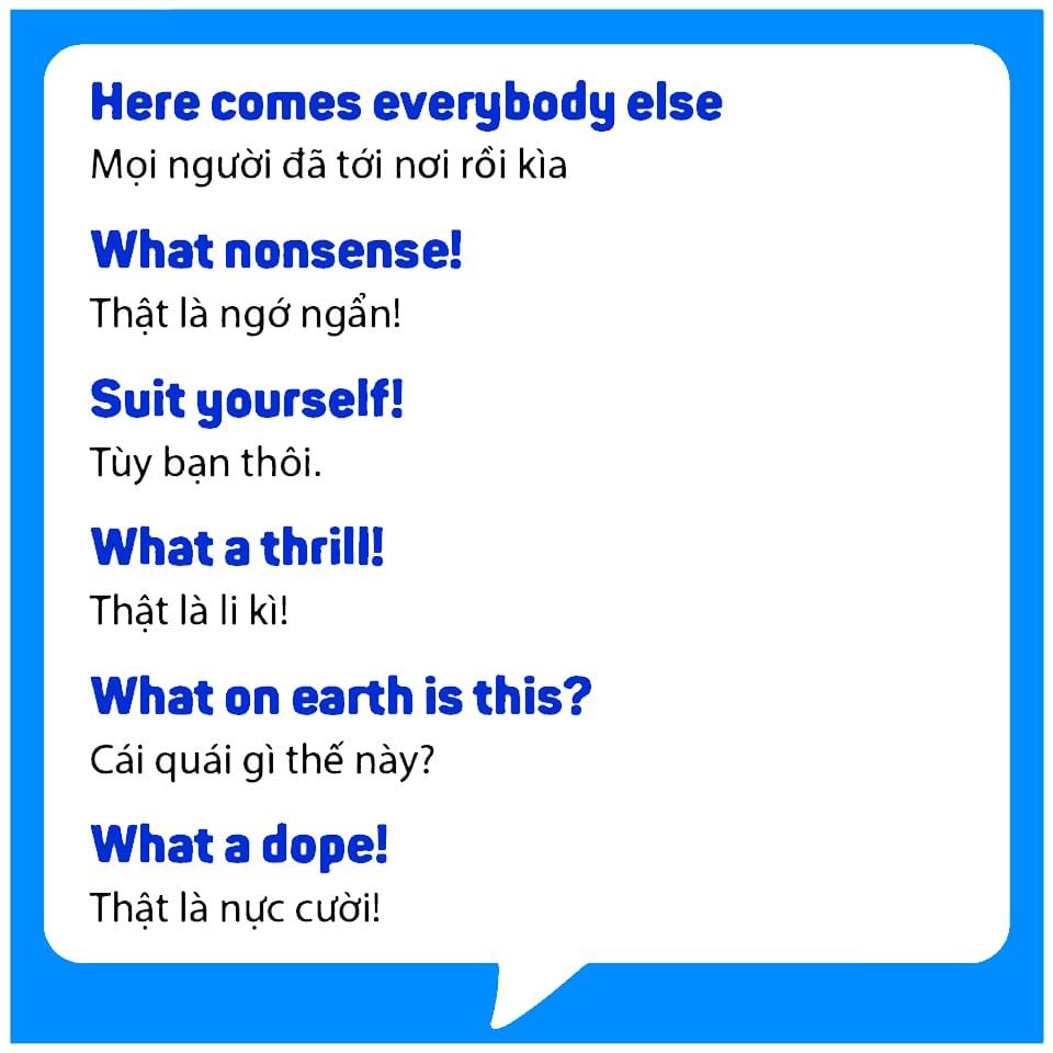 Tổng hợp câu giao tiếp Tiếng Anh