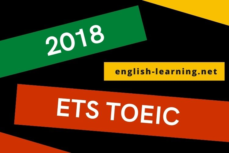 Tải miễn phí ETS TOEIC 2018