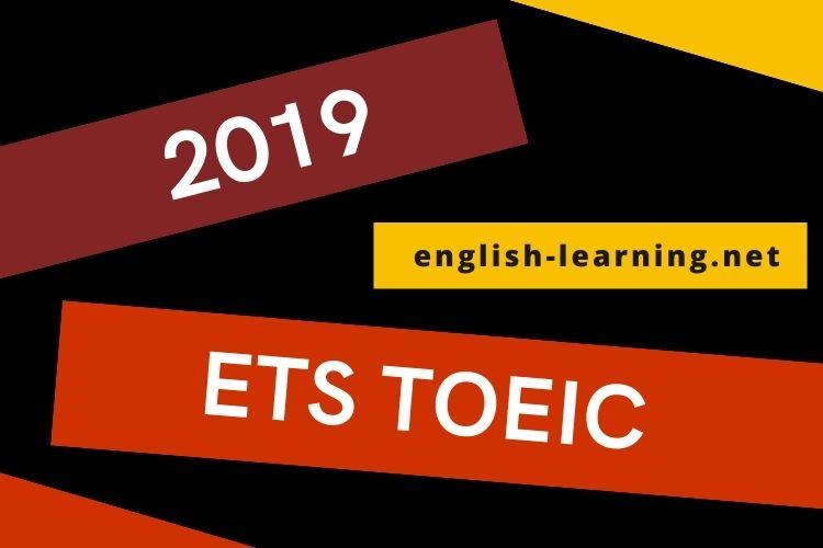Tải miễn phí ETS TOEIC 2019