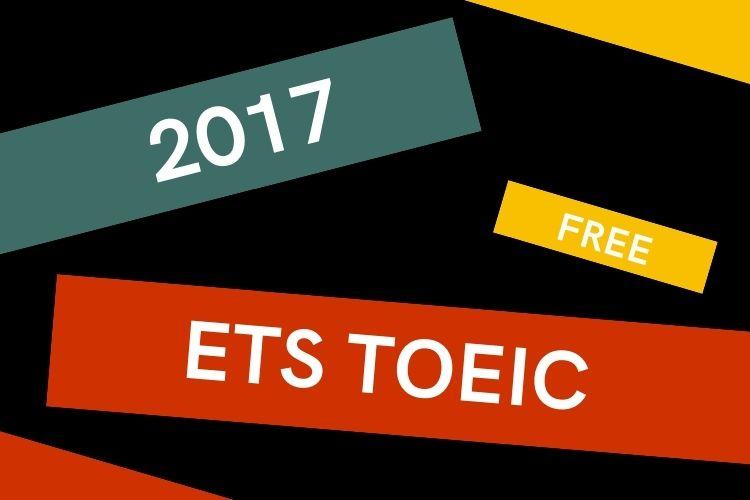 Tải miễn phí ETS TOEIC 2017