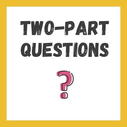 2-part questions IELTS