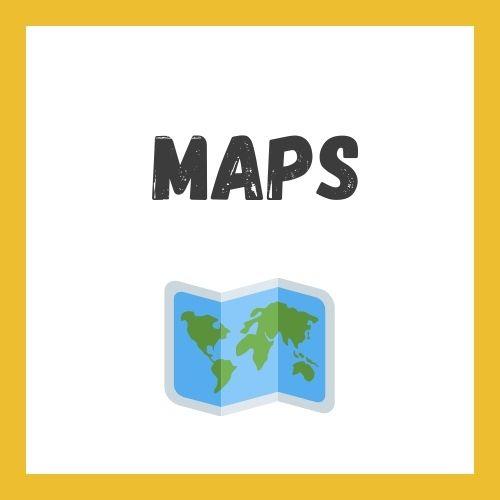 Writing Task 1 Maps